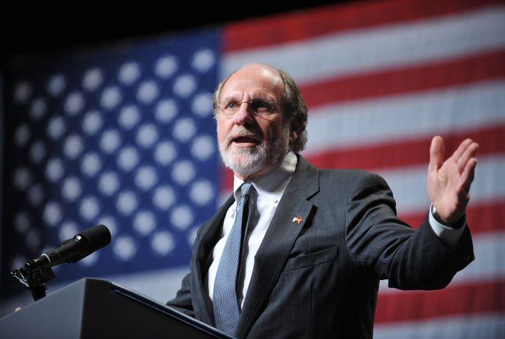 Joker an der Wall Street: Ex-Goldman-Chef Corzine ließ seine Kontakte spielen - und mobilisierte beinahe eine Million Dollar für Obama