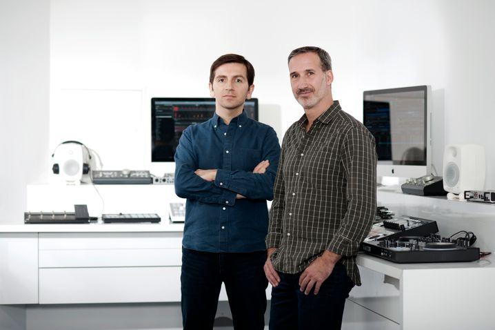 Native Instruments-Geschäftsführer Mate Galic (CTO; links) und Daniel Haver (CEO)