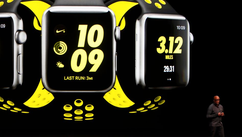 Apple Watch mit Nike+: Nike hat eine eigene Entwicklung zugunsten der Kooperation mit Apple aufgegeben