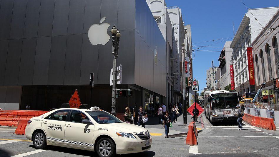 Apple im Straßenverkehr: Künftig will der iPhone-Konzern auch Autos bauen