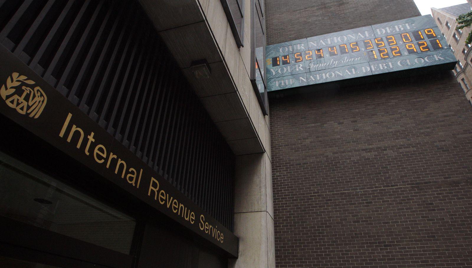 USA / IRS International Revenue Service