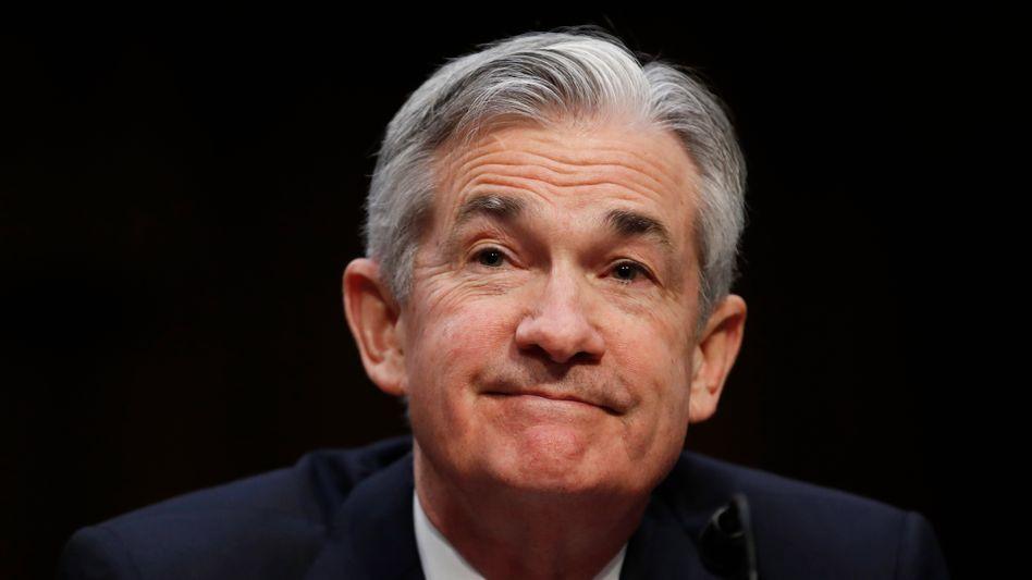 Im Blick der Investoren an den Finanzmärkten: US-Notenbankchef Jerome Powell wird in Jackson Hole ein viel beachtete Rede halten