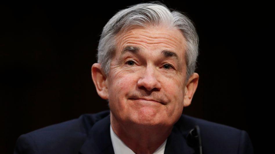 "Fed-Chef Jerome Powell: Weg der ""behutsamen"" Zinsschritte beibehalten"