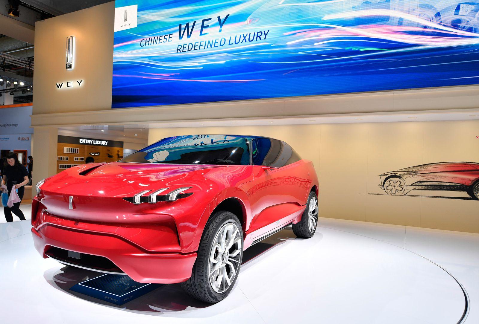 Wey luxury car