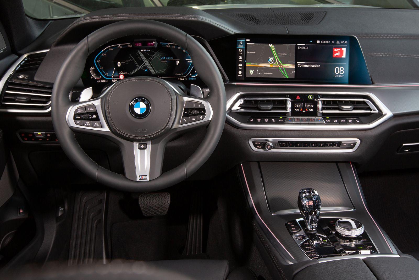 BMW X5 Plug in Hybrid / Cockpit