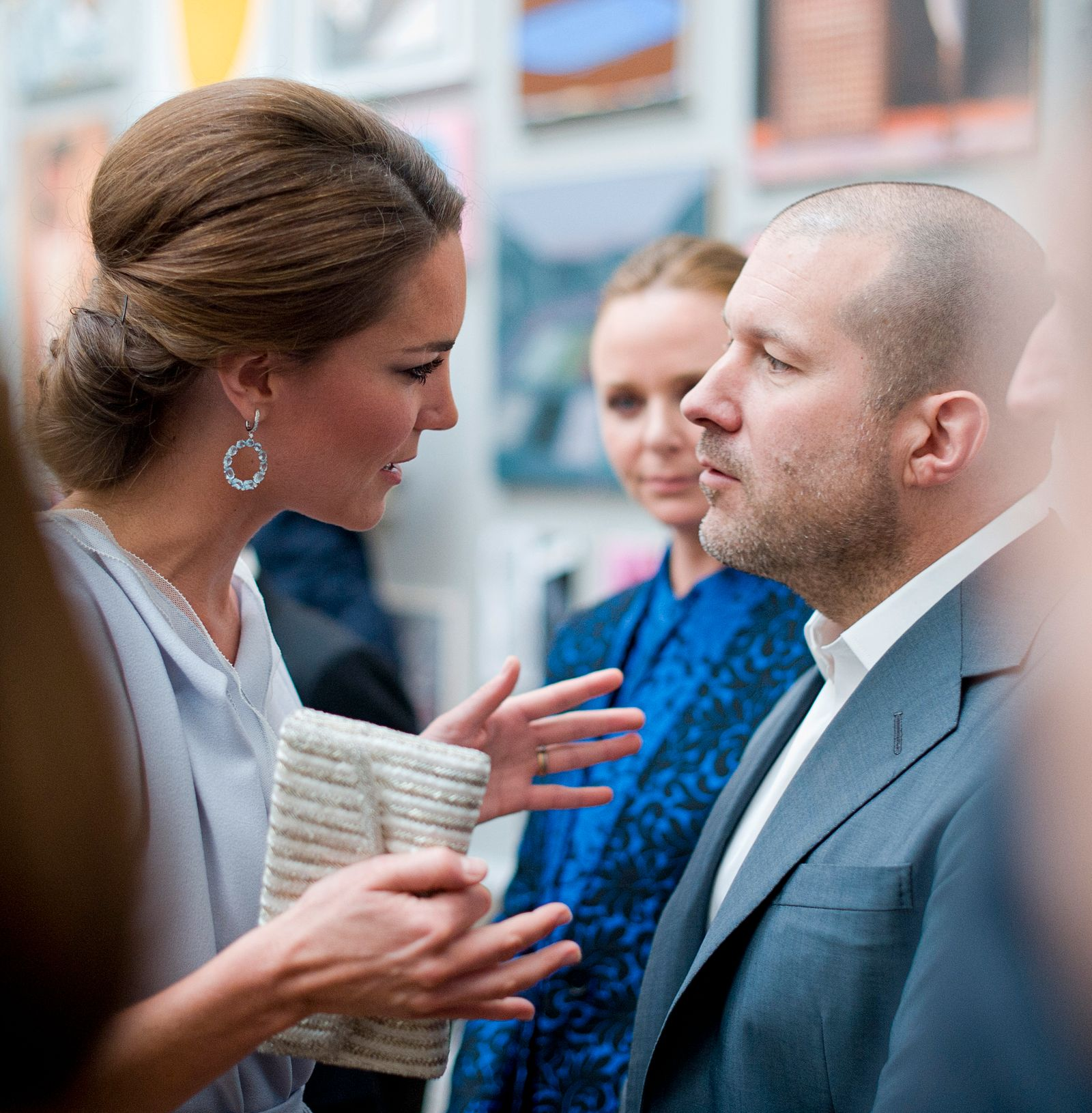 The Duchess Of Cambridge Attends The UK's Creative Industries Reception At The Royal Academy Of Arts