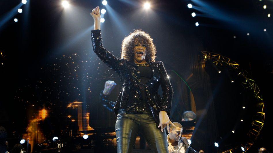 US-Sängerin Whitney Houston: Nicht mehr süchtig, dafür pleite