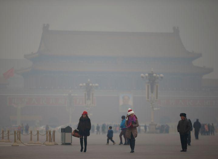 Peking im Smog: Umgerechnet 2,9 Milliarden Euro investierten Chinesen 2014 in London