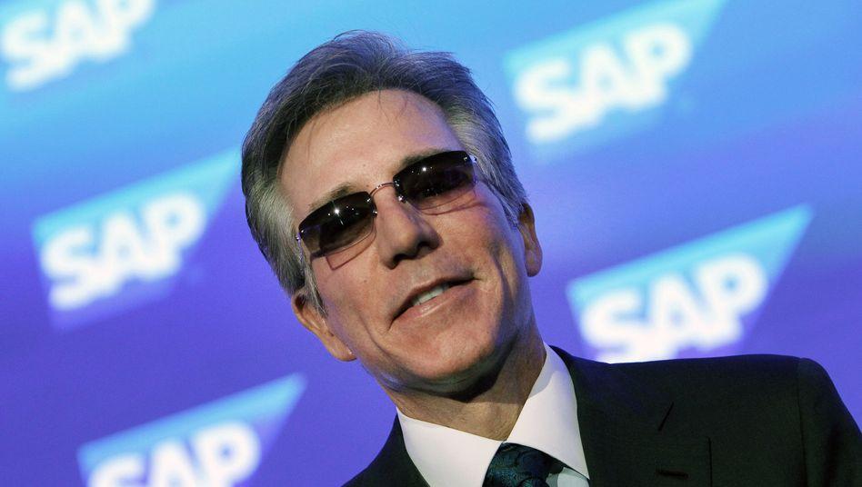 Abteilung Attacke: SAP-Chef Bill McDermott will mit einer Allianz mit Microsoft und Adobe die Vorherrschaft von Salesforce im CRM-Geschäft brechen