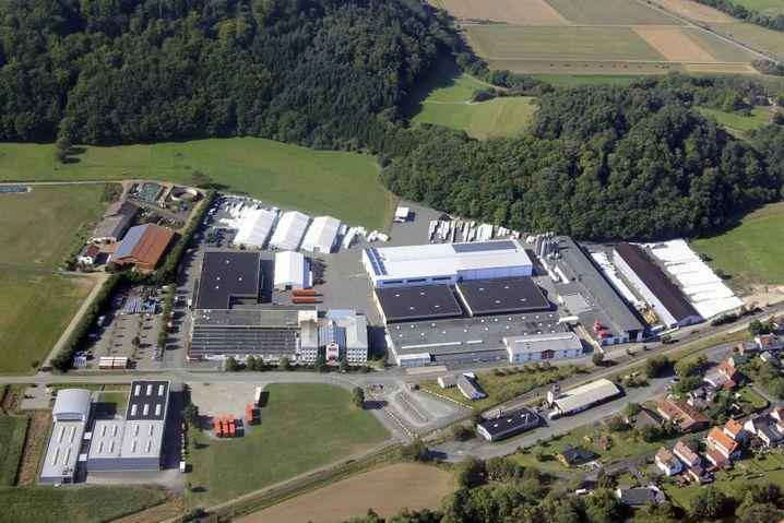 Hauptsitz der Roth Industries in Dautphetal-Buchenau: Das Unternehmen tut viel für die Energieeffizienz.