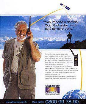 Werbung der Globalstar-Gruppe