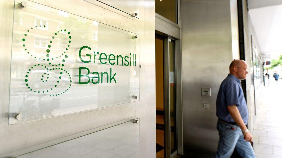 Betrieb eingestellt: Greensill Bank in Bremen