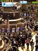 Börsensaal in der Wall Street