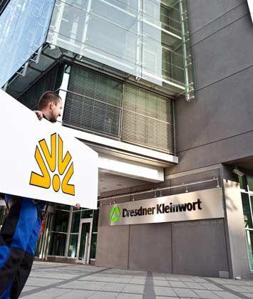 Übernommen: Die Commerzbank kaufte im vergangenen Sommer die Dresdner Bank, inklusive Milliardenverlusten