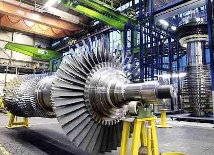 Siemens-Gasturbine:Ex-Manager sollen Schmiergelder in Millionenhöhe gezahlt haben