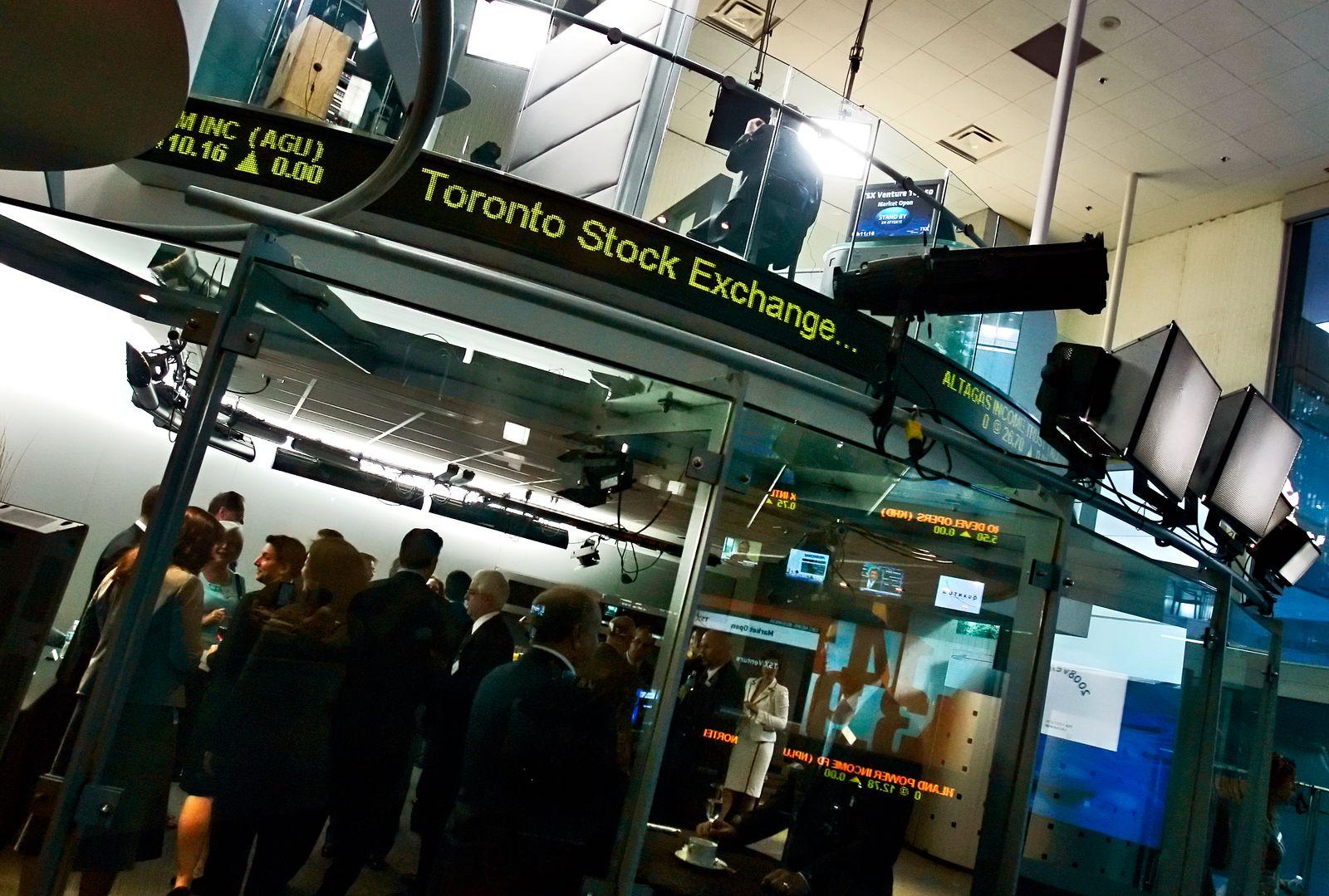 Kanada / Toronto / TSX / Toronto Stock Exchange / Börse