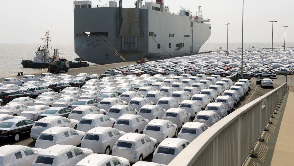 VW-Werk Emden: Deutsche Exporte schrumpften im Juni um 2,8 Prozent