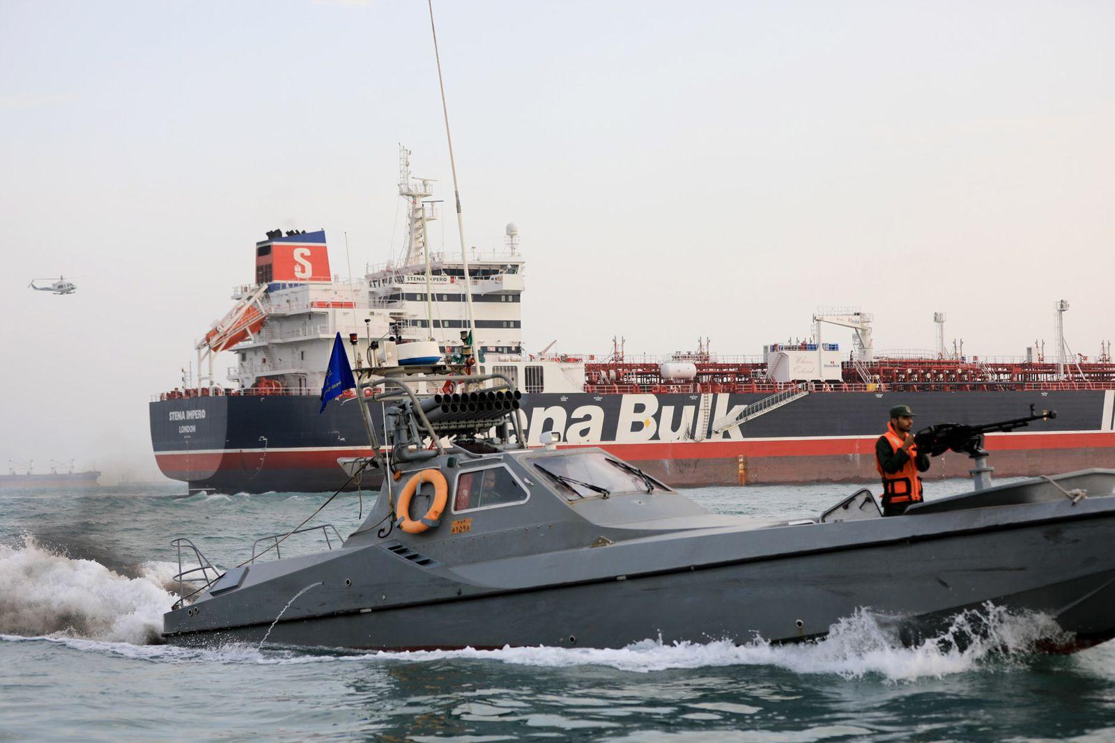 Iran Detains British Tanker