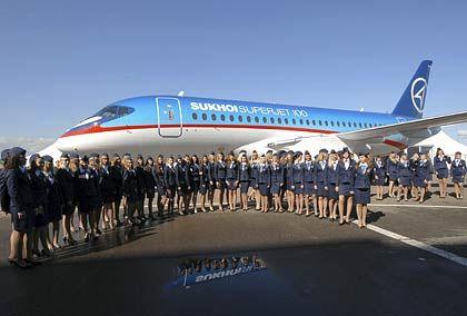 Jungfernflug noch in diesem Jahr: Superjet-Präsentation