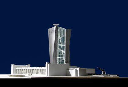 Coop Himmelb(l)au: Der erstplatzierte Entwurf für das neue EZB-Domizil am Mainufer
