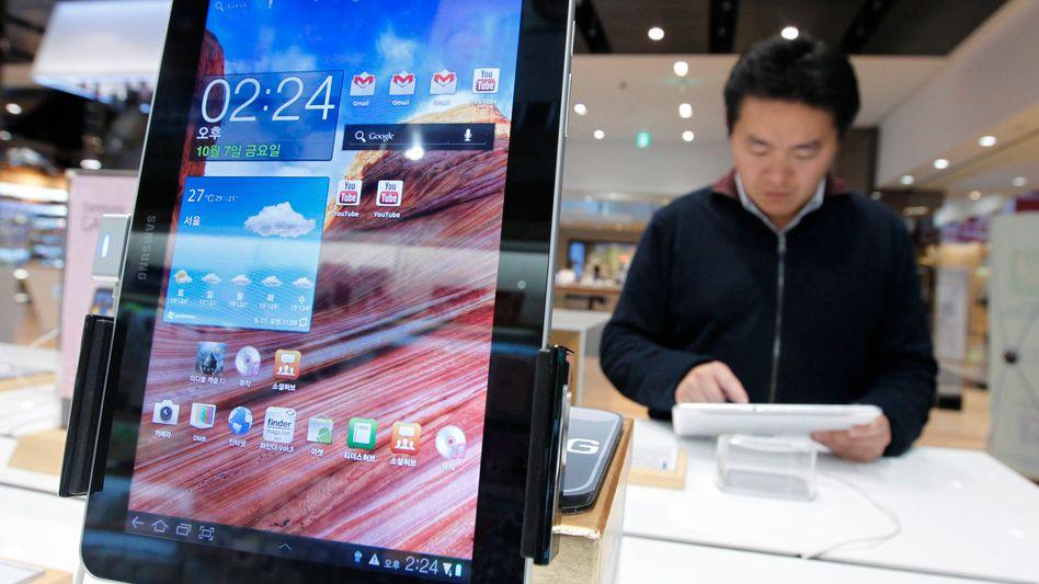 Samsungs Tablet-Computer: So nicht, entschied ein Gericht in Australien - einstweilen