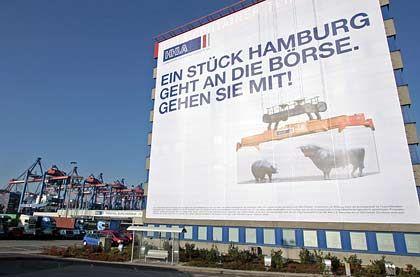 """""""Volksaktie Hafen"""": IPO-Werbung in Hamburg"""