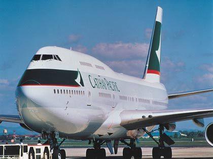 Hat bald ausgedient: Boeing 747 älterer Bauart
