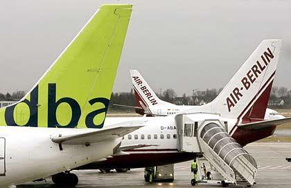 Getrennte Wege: Die Manager Wojahn und Gauss verlassen die Air Berlin-Tochter dba