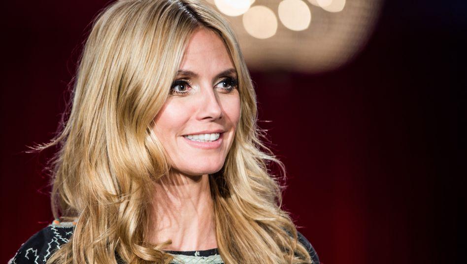 """Alles wie gehabt für Heidi Klum: Über """"Germany's Next Topmodel"""" auf ProSieben berichtet Springers """"Bild"""" auch ohne Fusion"""