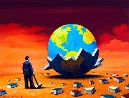 Hat sich die Weltwirtschaft schon erholt? In den kommenden Monaten drohen böse Überraschungen