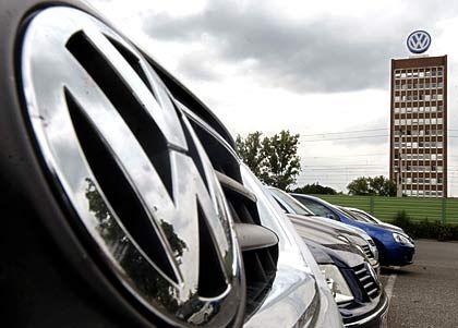 Dax-Stütze: Die VW-Aktie legte zeitweise um 200 Prozent zu