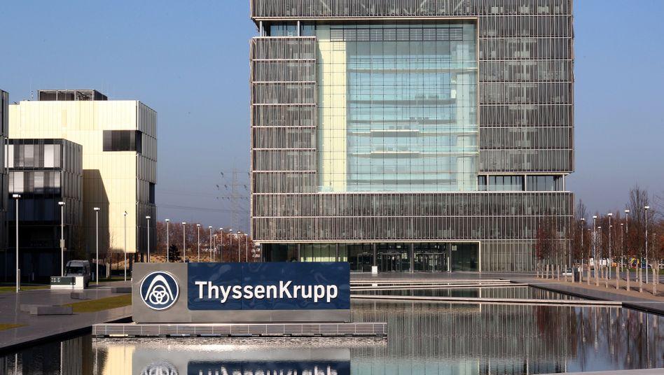 Bekommt Besuch von Investoren: Ruhrkonzern ThyssenKrupp