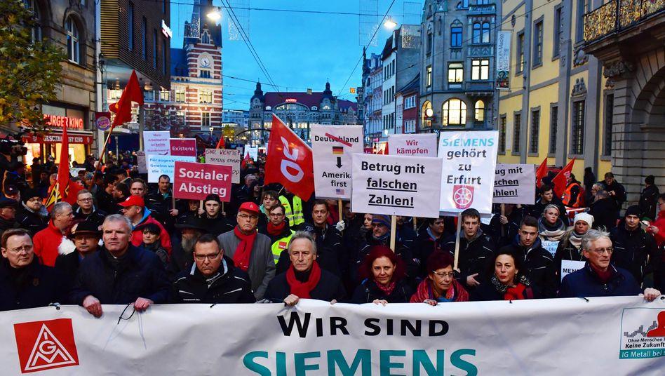 Protest in Erfurt