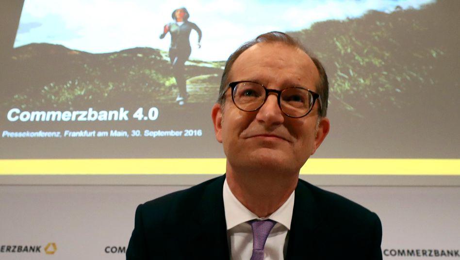 Commerzbank-Chef Martin Zielke: 9600 Stellen fallen weg - und doch soll die neue Bank mehr Kunden locken