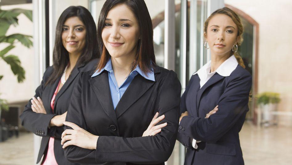 Business-Frauen: Auf dem Vormarsch