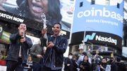 Coinbase gibt turbulentes Debüt an der Nasdaq