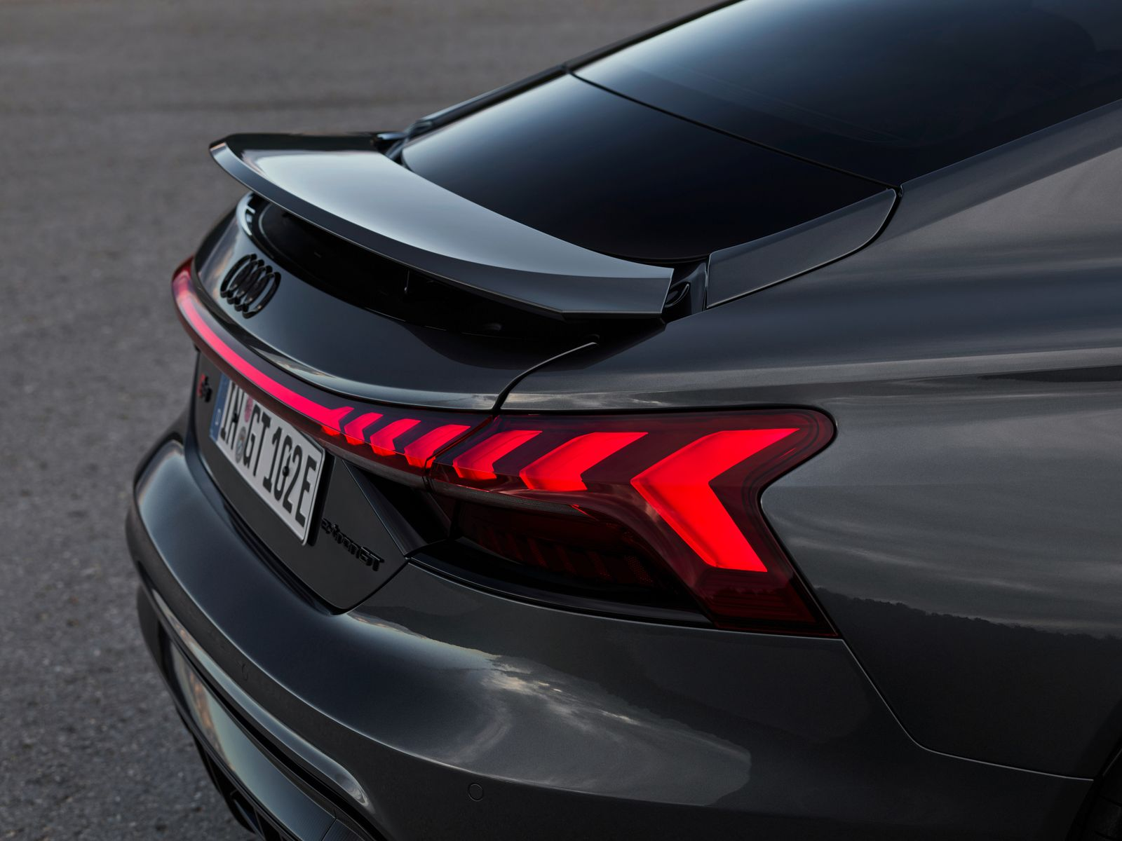 Audi e-tron GT / Heck