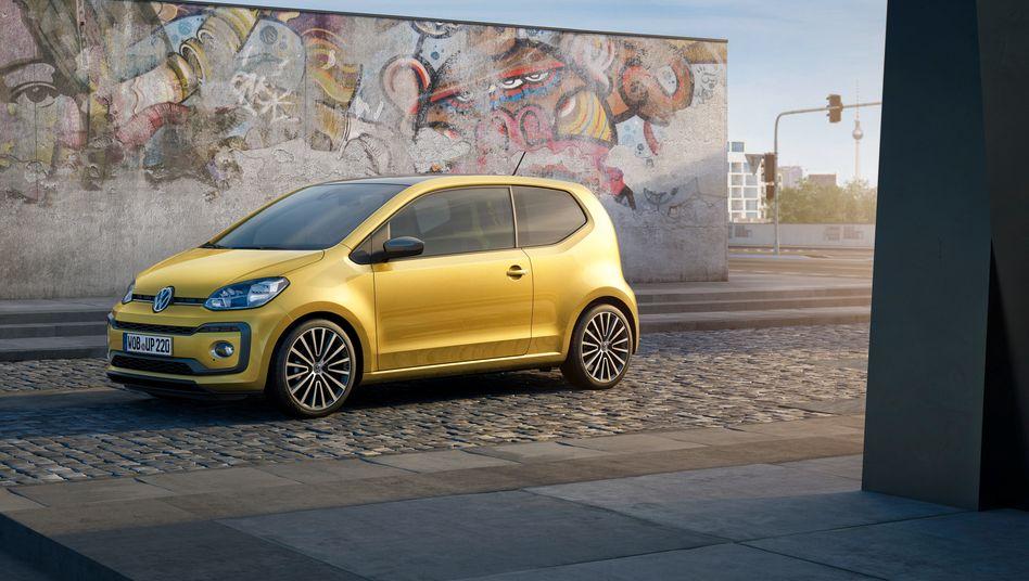 VW Up: Die Zukunft des Kleinstwagens im VW-Konzern ist eher unsicher