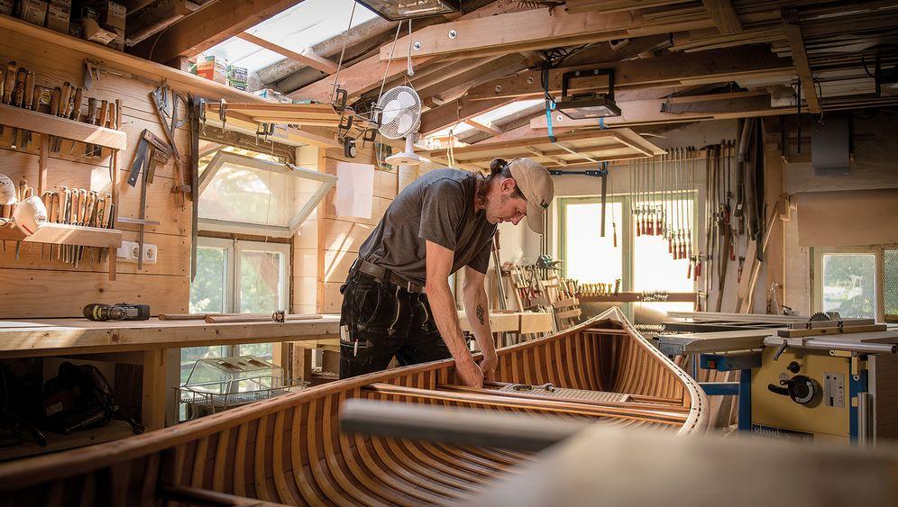 Ein Boot fürs Leben: Wood & Canvas-Kanus von Thomas Braun