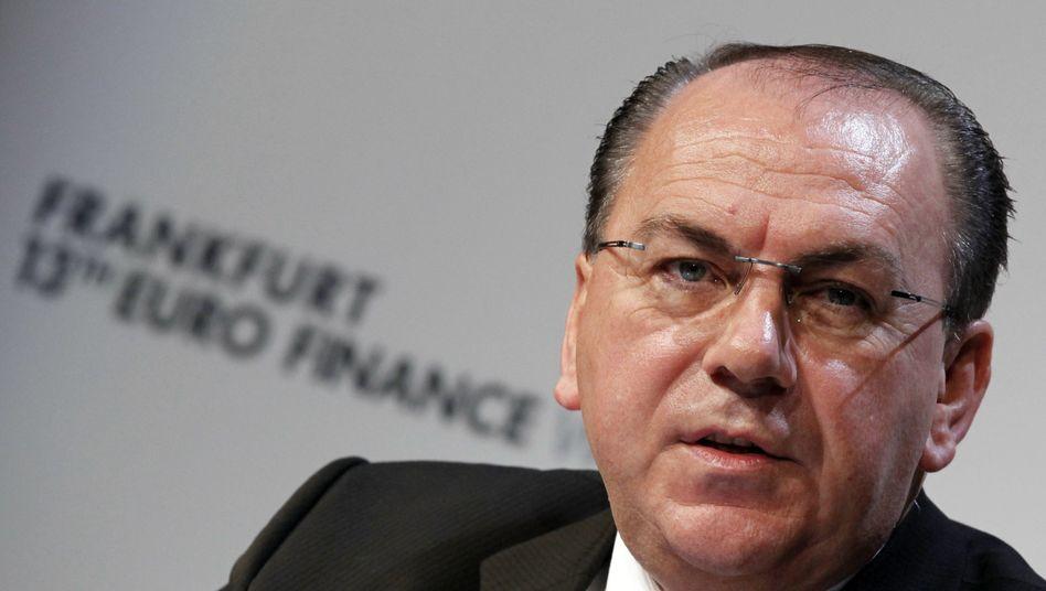 Axel Weber: Der Chef der Deutschen Bundesbank scheidet Ende April aus dem Amt und wird durch Jens Weidmann ersetzt