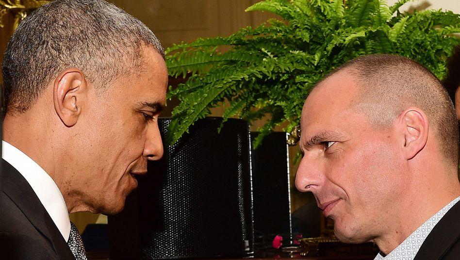 Obama und Varoufakis: Wie amerikanisch muss Europa werden?