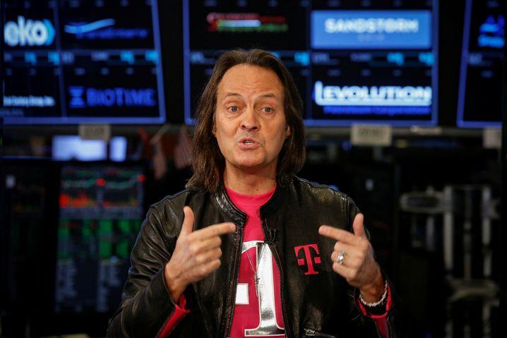 T-Mobile CEO John Legere hat für 2020 seinen Rücktritt angekündigt