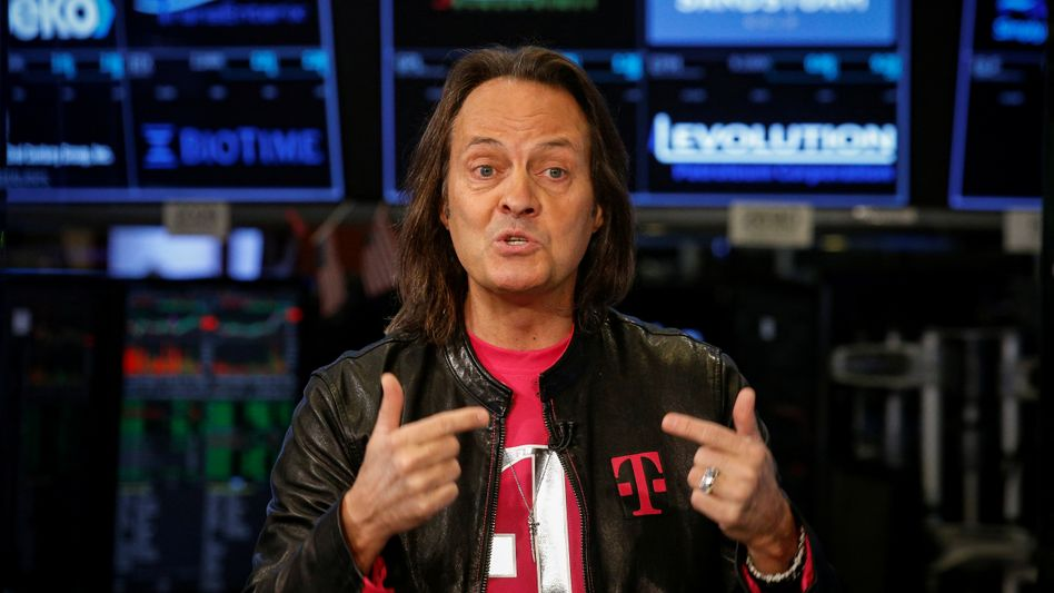 T-Millionär: Ex-T-Mobile-Boss John Legere