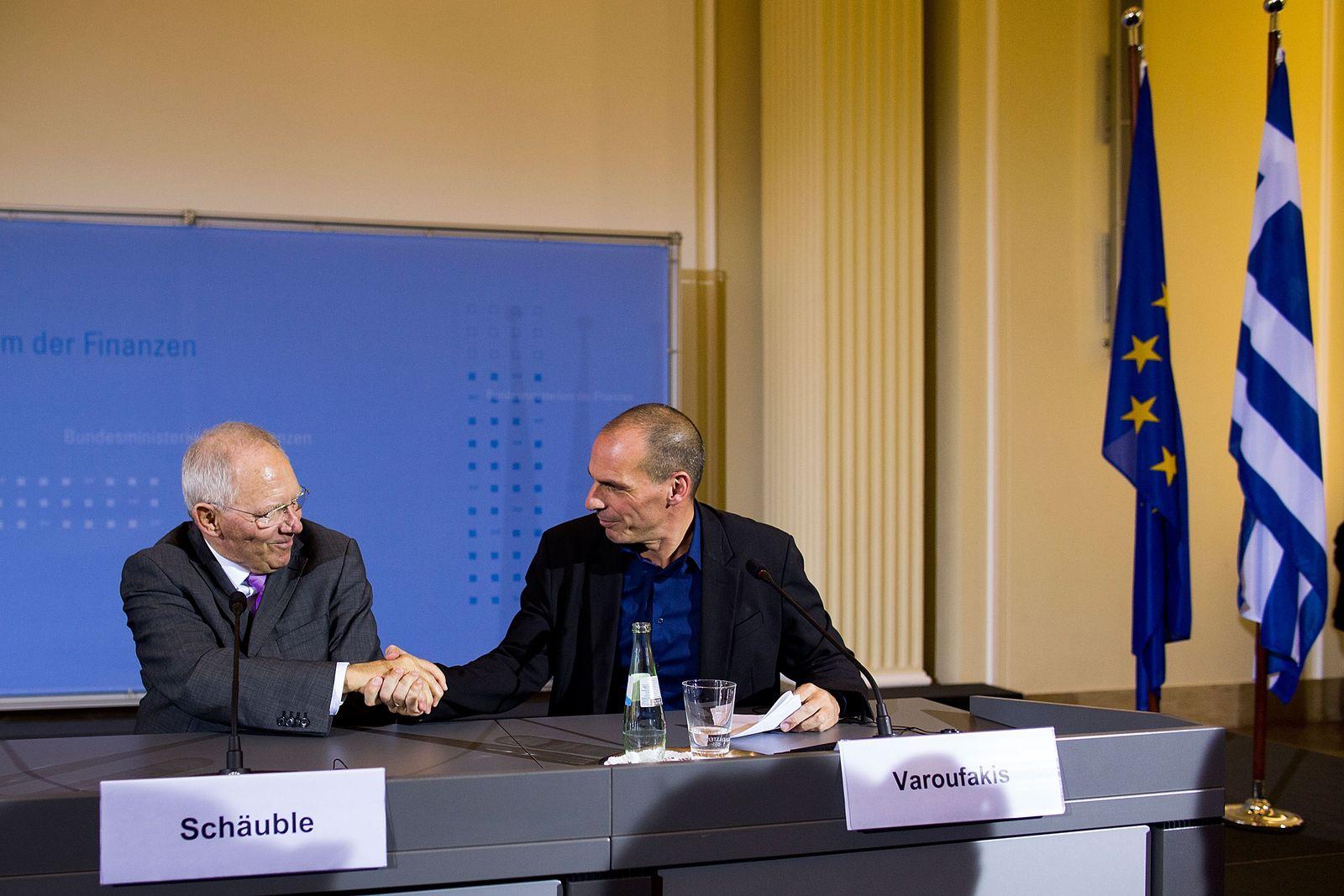 Griechenland / Euro / Wolfgang Schäuble / Yanis Varoufakis