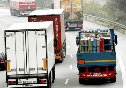 Krisengebeutelt: Der Nutzfahrzeugabsatz ging seit Jahresbeginn um mehr als 37 Prozent zurück