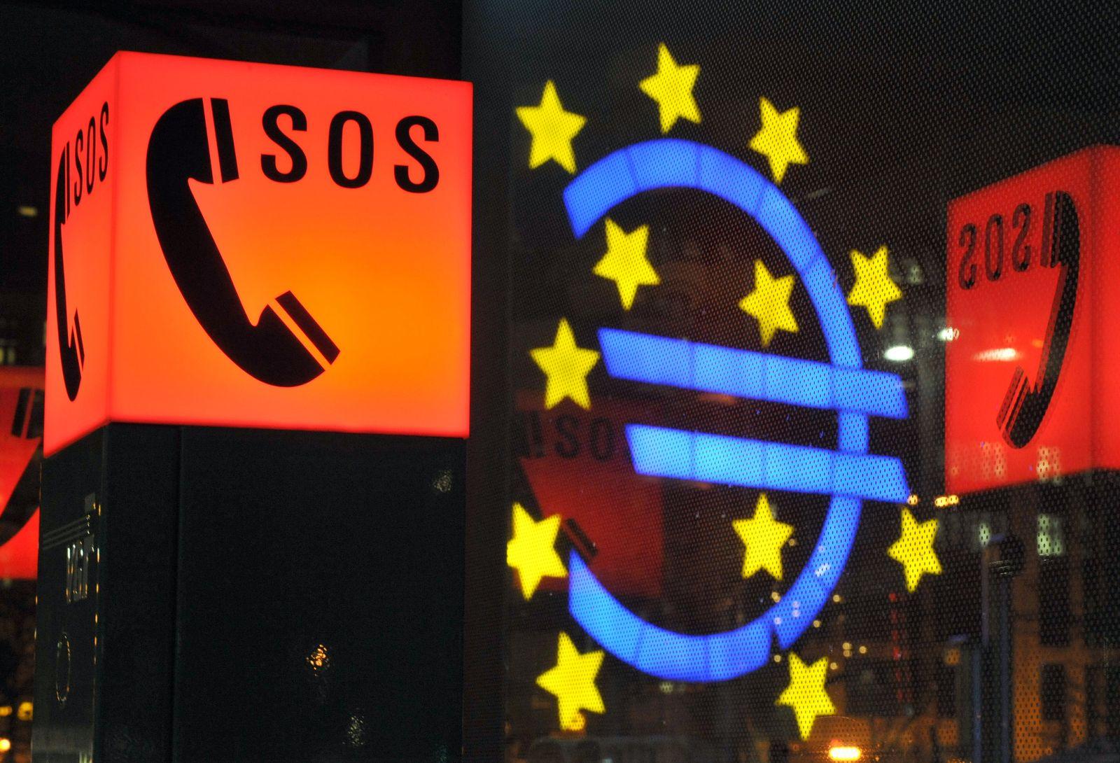 Euro vor EZB Spanien