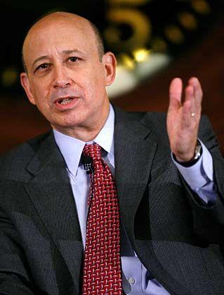 Krise noch nicht vorbei: Goldman-Sachs-Chef Blankfein