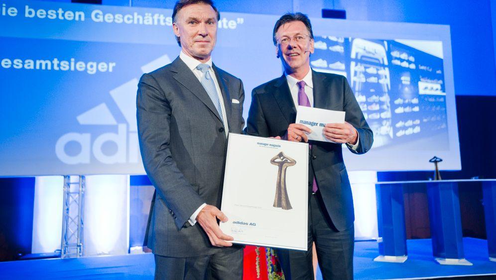 Bester Geschäftsbericht 2012: Sieger, Emotionen, Menschen