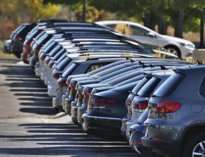 VW-Autos bei einem US-Händler: Die Sanierung des Nordamerika-Geschäfts wird nach Dieselgate ein Knochenjob