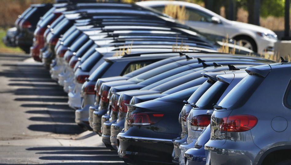Volkswagen-Fahrzeuge: Das Interesse der Kunden am Diesel sinkt